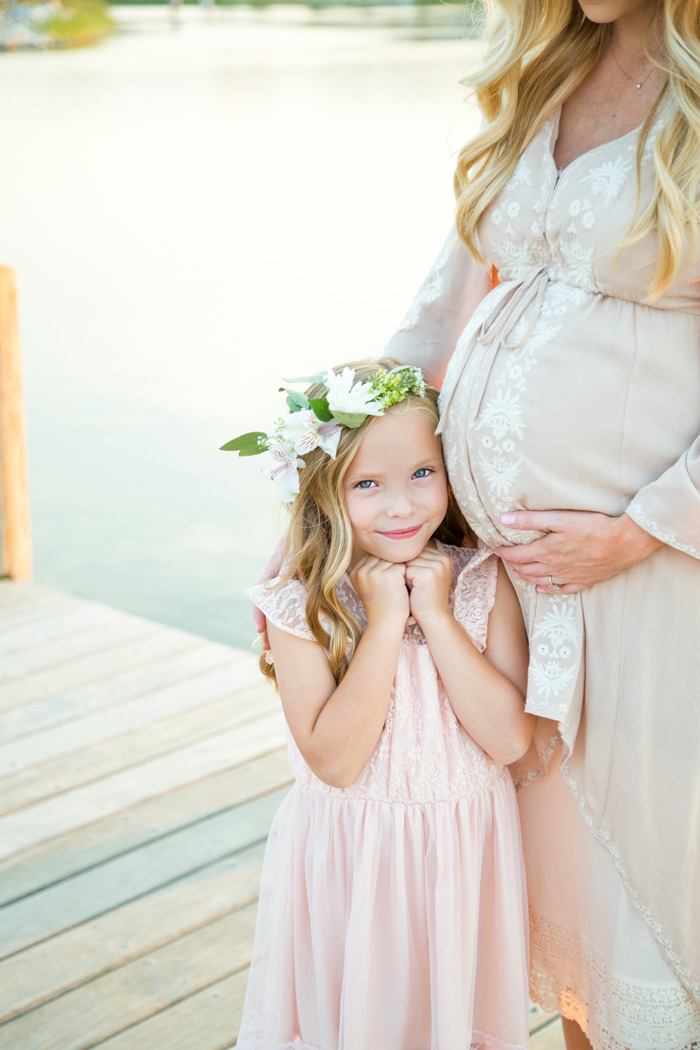 nataliemalan-maternity-style-photoshoot-pink-classic-lake-living-daybreak-dock-flower-crown-pink-gown-web